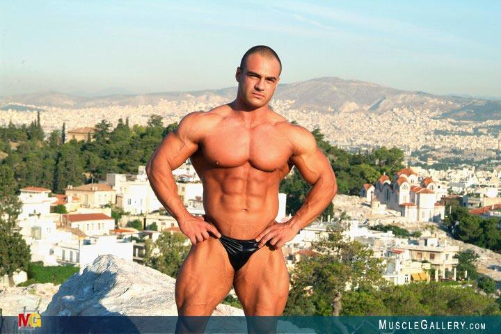 Gay bodybuilder dimitris anastasakis