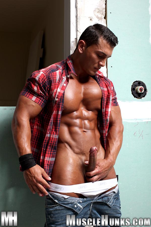 porn Gay muscle hunk omar