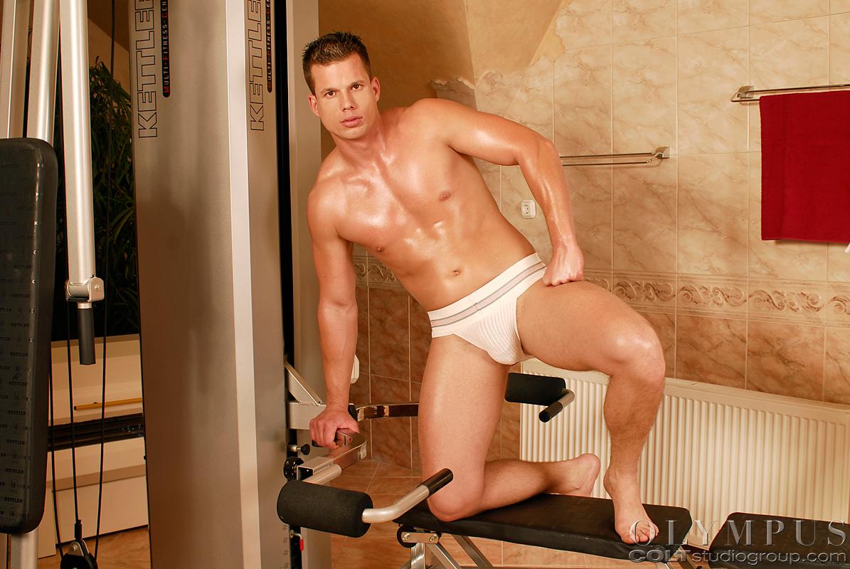 from Truman gay bodybuilder action