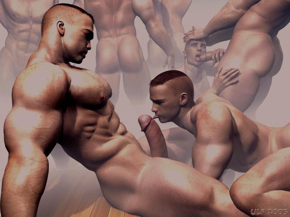 Гей Порно Высокие