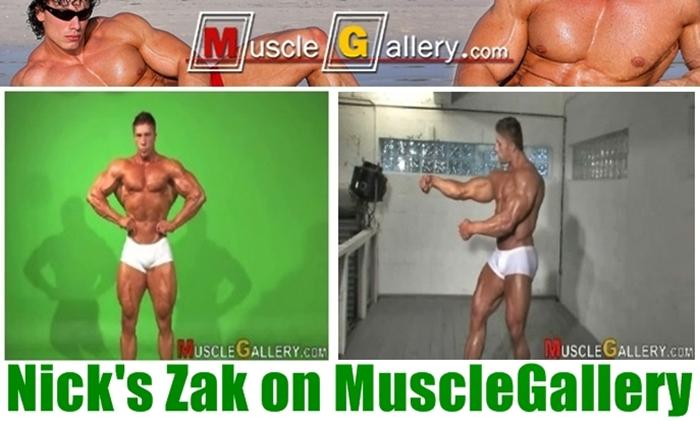 Nick Zak - MuscleGallery