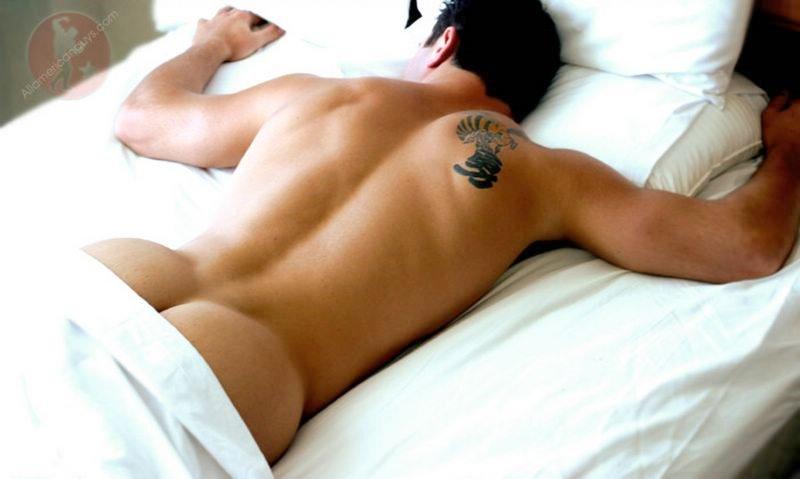 Naked sleeping jock 8