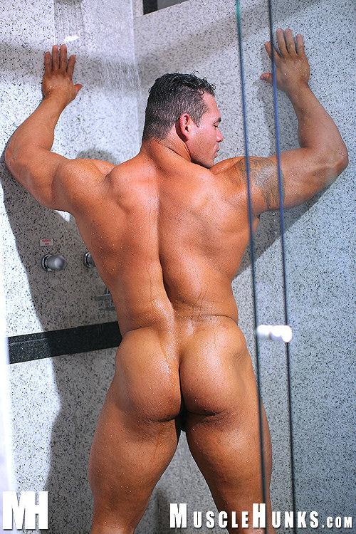 Latin Bodybuilder Tito Ortiz Posing